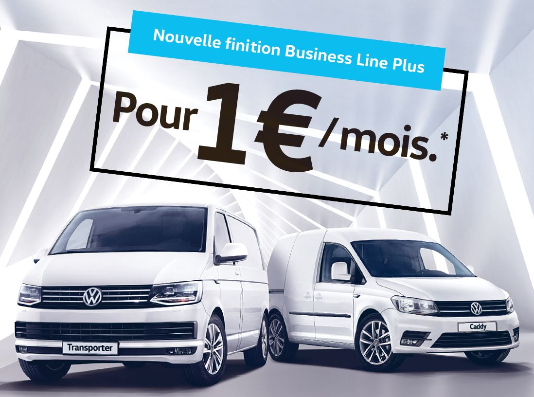 Finition Business Line pour Transporter et Caddy